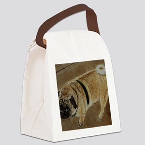 pug_dog_framed_print1 Canvas Lunch Bag