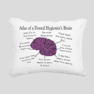 Atlas of a Hygienists Br Rectangular Canvas Pillow