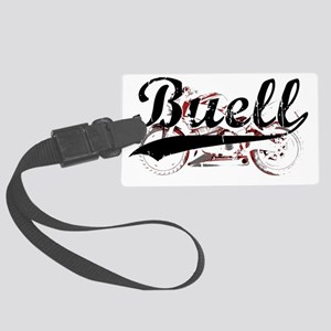 Buell_Script Large Luggage Tag