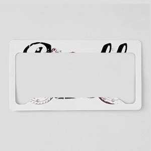 Buell_Script License Plate Holder