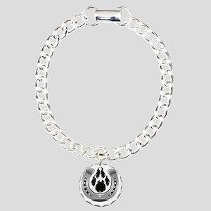 Razor Customs Logo Charm Bracelet, One Charm