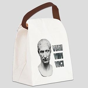 Veni vidi vici Canvas Lunch Bag