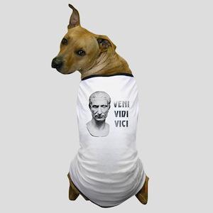 Veni vidi vici white Dog T-Shirt