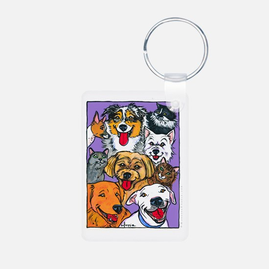 Furry Family Keychains
