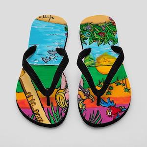 Hawaiian Fun Flip Flops