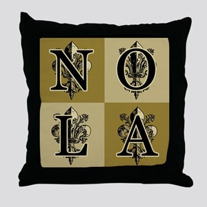 AntiqFleurGsqB460ip Throw Pillow