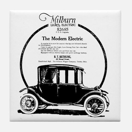 1919 Milburn Tile Coaster