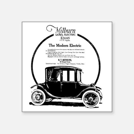 "1919 Milburn Square Sticker 3"" x 3"""