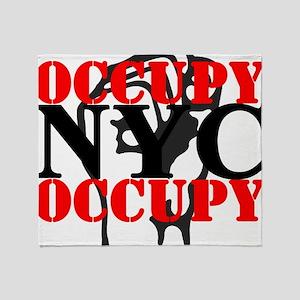 OccupyNYC Throw Blanket