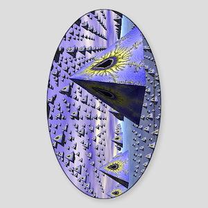 pyrarmada-kindle-sleeve Sticker (Oval)