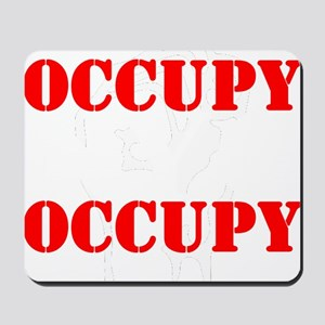 OccupyNYC-lgt Mousepad