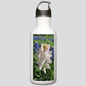 Pink and Bluebonnets Stainless Water Bottle 1.0L