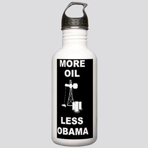 anti obama more oildwb Stainless Water Bottle 1.0L