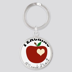 Teaching Round Keychain