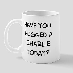 Hugged a Charlie Mug
