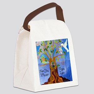 tree for joyce Canvas Lunch Bag