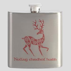Celtic Christmas T Sct Flask