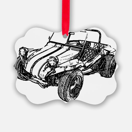 dune buggy pencil Ornament
