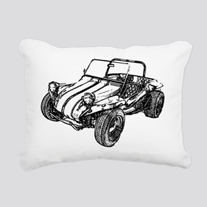 dune buggy pencil Rectangular Canvas Pillow