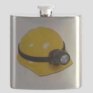 HardHatWithLamp102811 Flask
