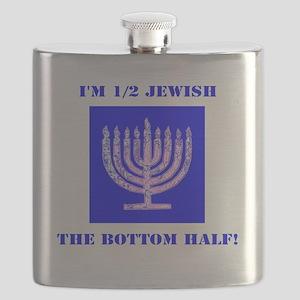Half Jewish 3 2 clear Flask