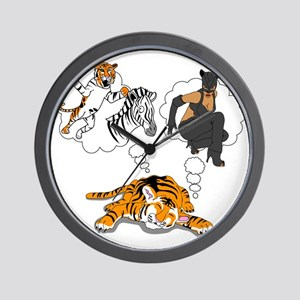whatdotigersdreamof Wall Clock