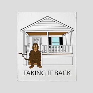 monkey Throw Blanket