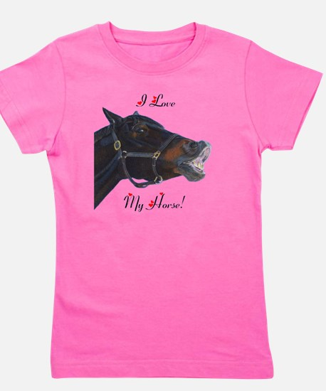buster_horse_pillow_16in Girl's Tee