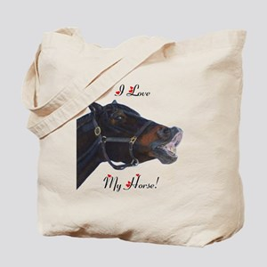 buster_horse_pillow_16in Tote Bag