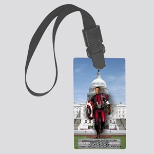 Americas Super Hero Large Luggage Tag
