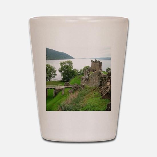 Urquhart Castle Shot Glass