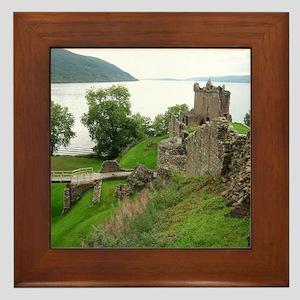 Urquhart Castle Framed Tile