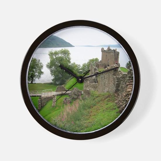 Urquhart Castle Wall Clock