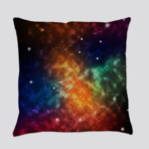 Universe scene dusts nebula clouds Everyday Pillow
