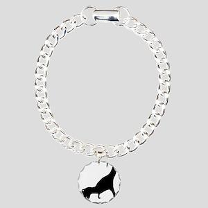 dino2 Charm Bracelet, One Charm
