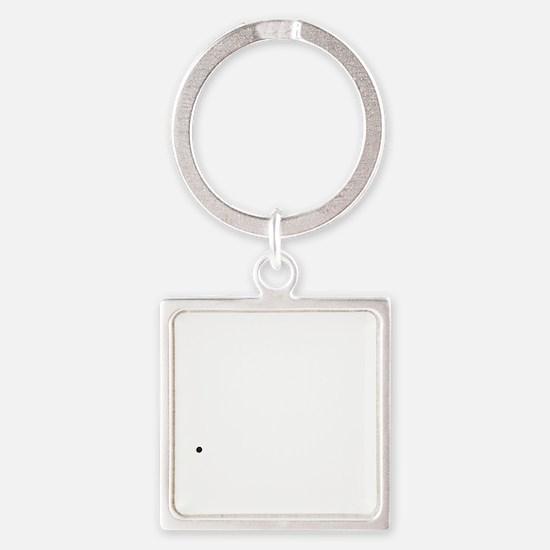 dino3 Square Keychain