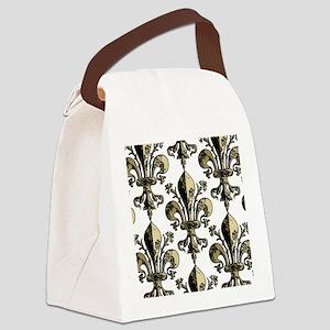 AntiqFleurGPtrMp Canvas Lunch Bag