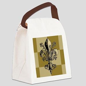AntiqFleurGfcMp Canvas Lunch Bag