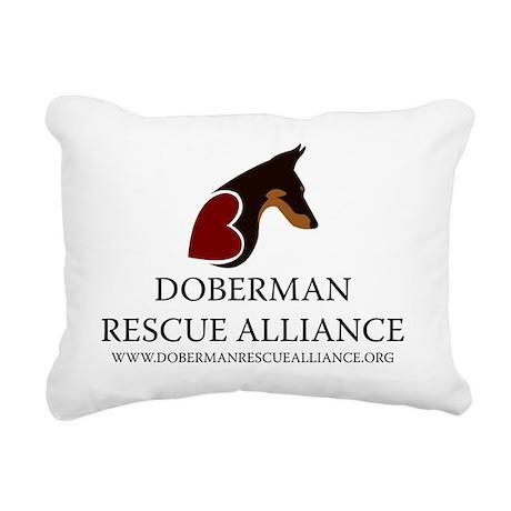 DRA_vertical_web_address Rectangular Canvas Pillow