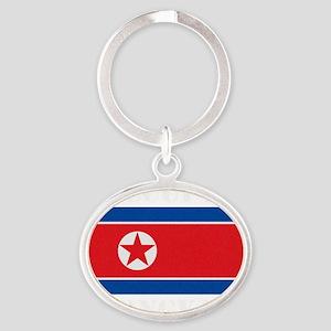 Occupy Pyongyang Oval Keychain