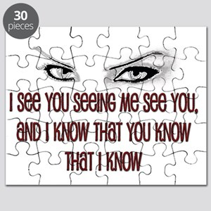 i see you Puzzle