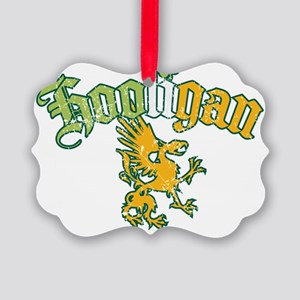 Hooilgan-blk Picture Ornament