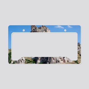 Uchisar Castle, Cappadocia -  License Plate Holder