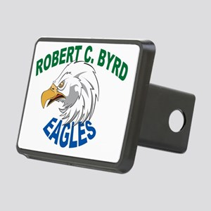 Robertbyrdeagleclearback Rectangular Hitch Cover