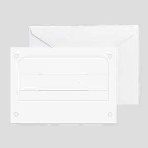 Cassette White Greeting Card