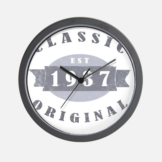 ClassicOrig1937 Wall Clock
