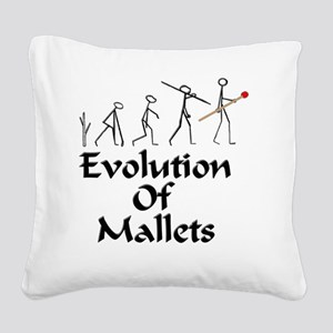 funny mallet evolution xyloph Square Canvas Pillow