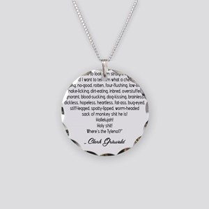 clark-glass-1 Necklace Circle Charm