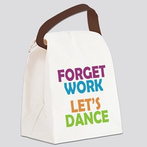 letsdance Canvas Lunch Bag