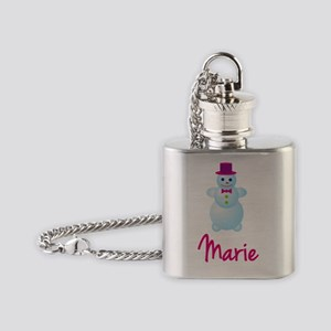 Marie-the-snow-woman Flask Necklace